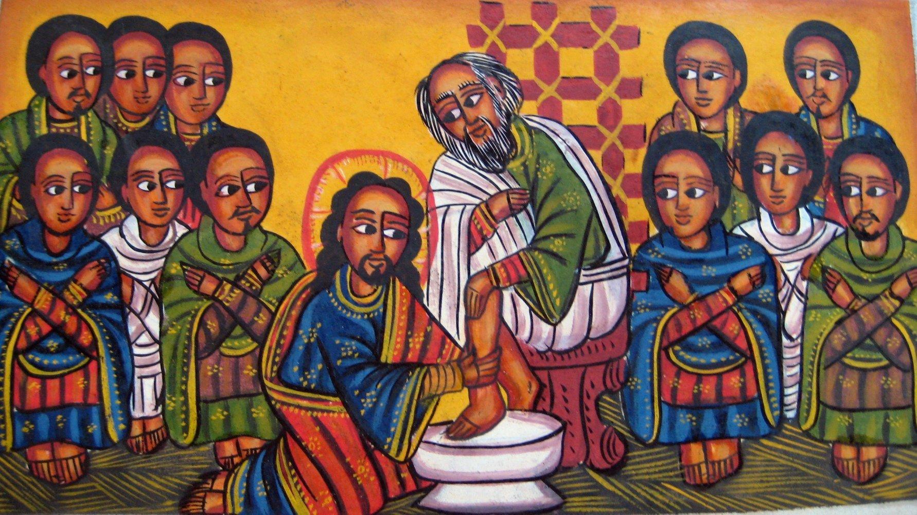 Ethiopian orthodox art, unknown artist